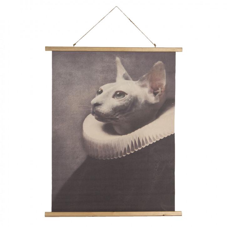 Wandkarte Katze 80x2x100 cm
