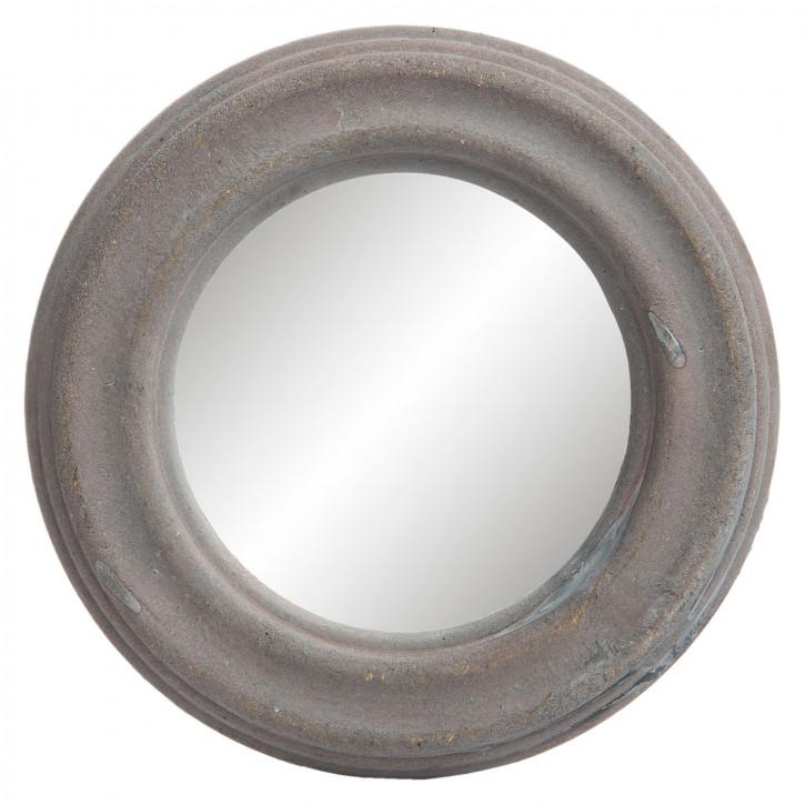 Spiegel mit Rahmen rund  Ø 15x2 cm