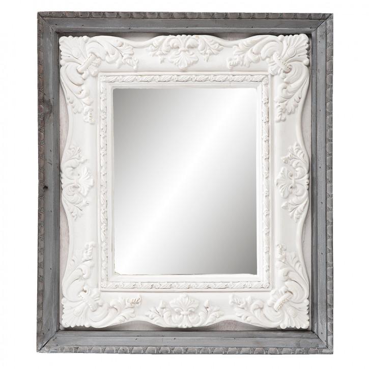 Spiegel im Retro Rahmen 41x4x47 cm