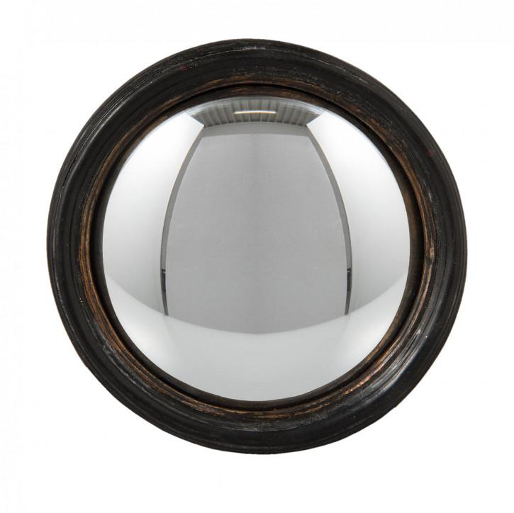Spiegel rund braun 13x8x13 cm