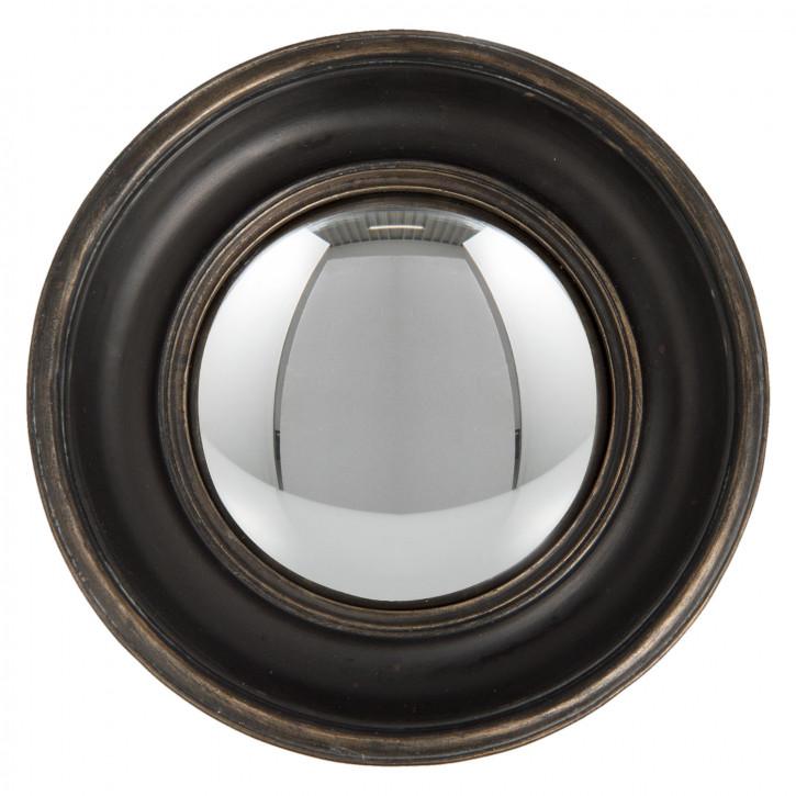 clayre eef 62s128 spiegel rund braun 13x4x13 cm. Black Bedroom Furniture Sets. Home Design Ideas