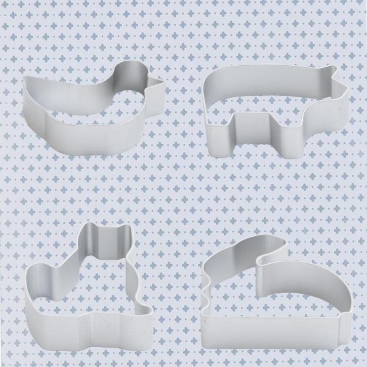 Ausstechform (4) 6x7 cm