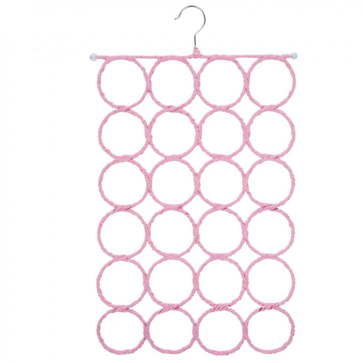 Aufhänger für Schals rosa ca. 38 cm