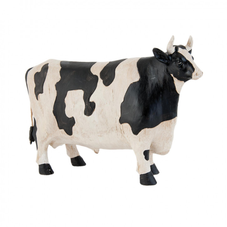Figur Kuh schwarz / weiß ca. 23 cm