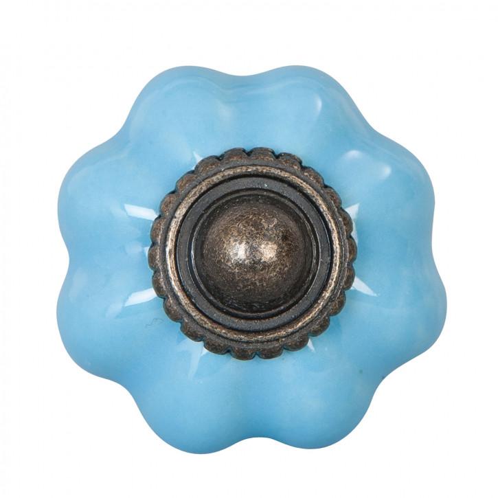 Türknopf blau Ø 3 cm