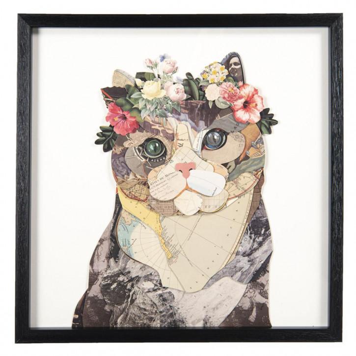 Bild Katze 50x3x50 cm