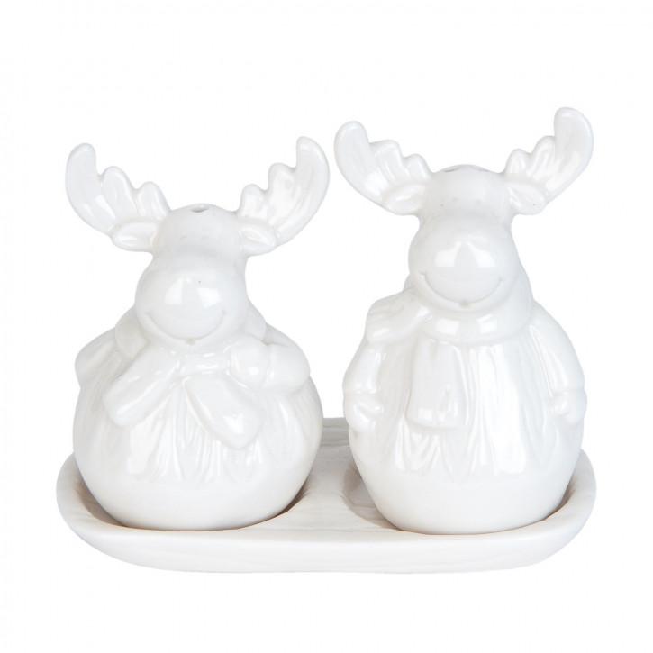 Salz und Pfeffer Reindeer(2) 9x9x12 cm