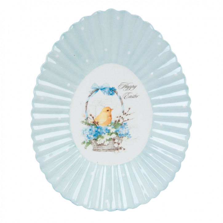 Plate Easter 23x18x3 cm
