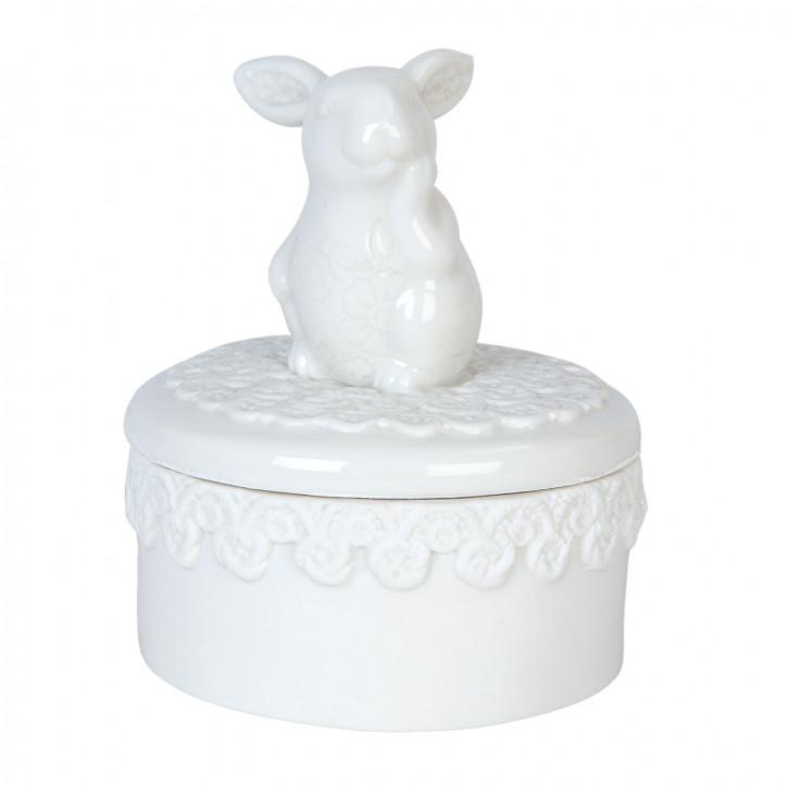 Porzellanfigur Mäuschen Ø 9x11 cm