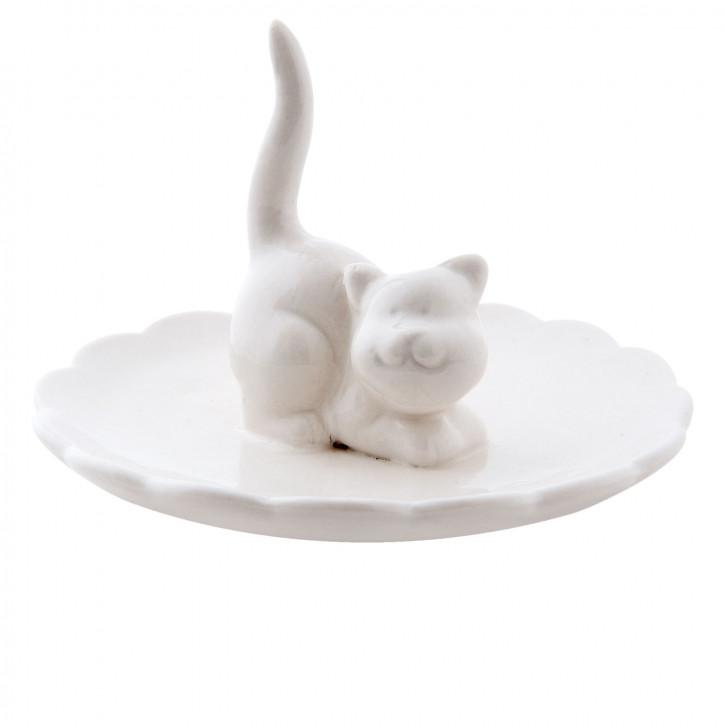 """Teller """"Katze"""" Ø 10x7 cm"""