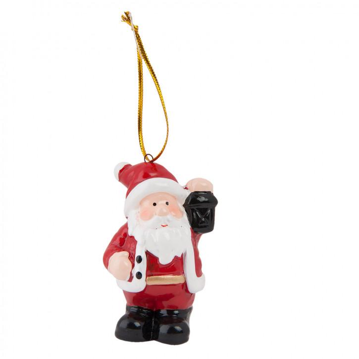 Hängedekoration Santa 4x4x7 cm