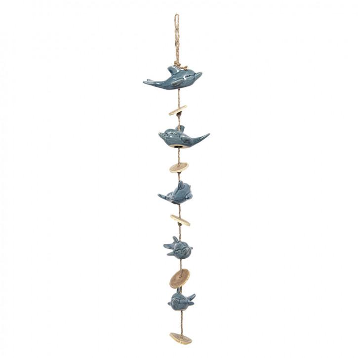 Dekoration Delfine 15x10x70/80 cm