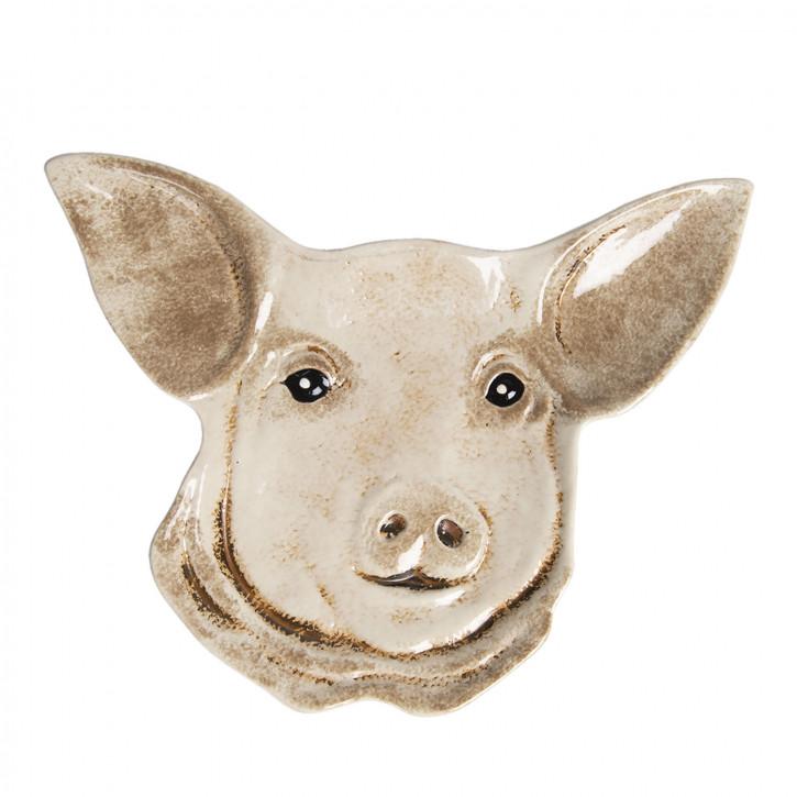 Schale Schwein 25x19x2 cm