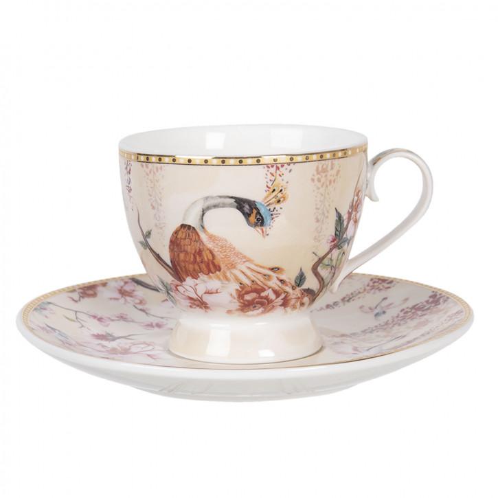 Kaffeetasse mit» 11x8x7 / Ø 16x2 cm»