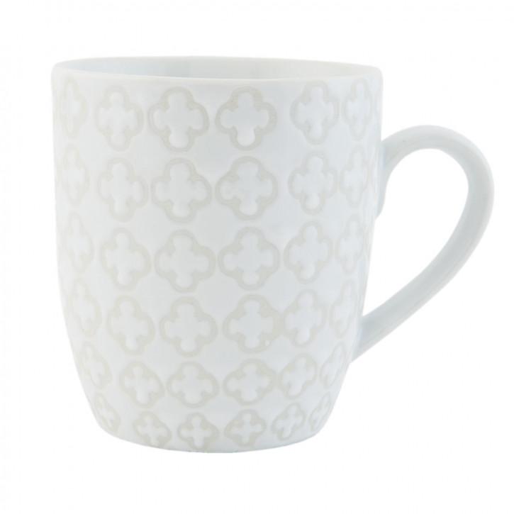 Kaffeetasse Teetasse weiß ca. Ø 8 x 9 cm