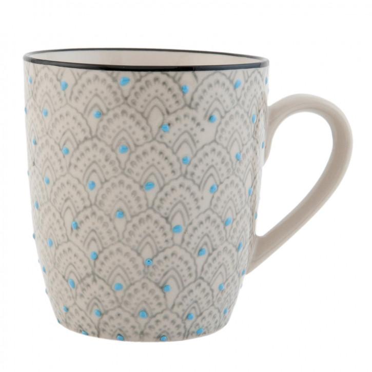 Kaffeetasse Teetasse mehrfarbig ca. Ø 8 x 9 cm