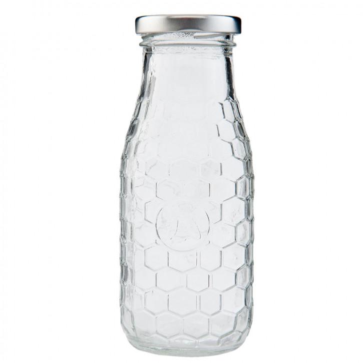 Flasche mit Schraubverschluss ca. Ø 6 x 15 cm