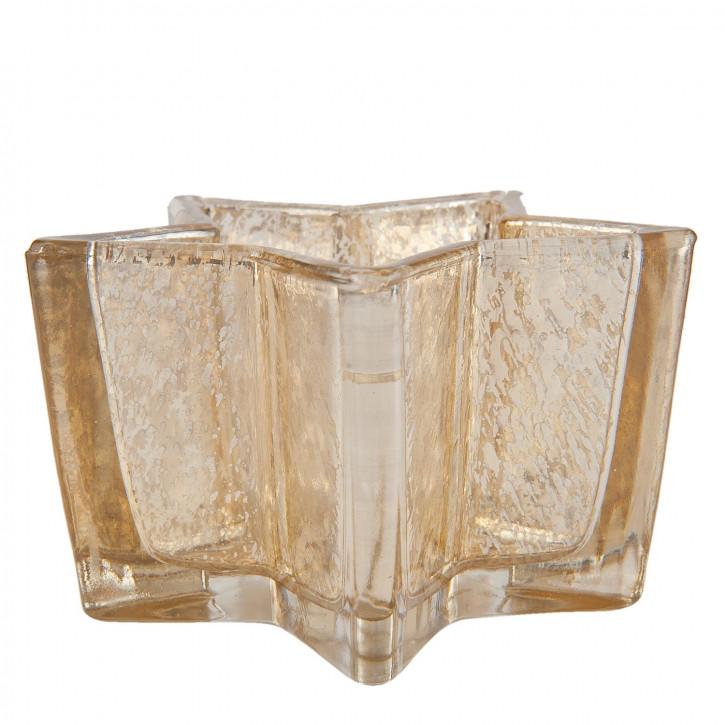 Teelichthalter 11x10x6 cm