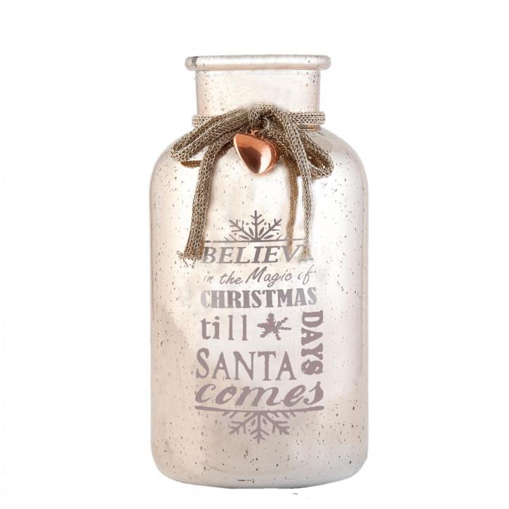 Flasche Ø 10x20 cm