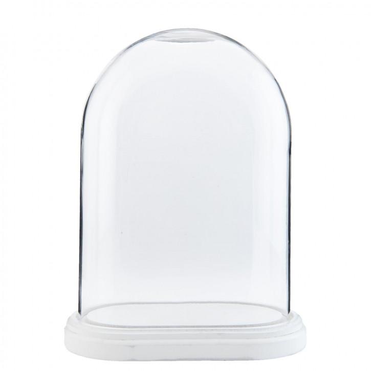 Glasglocke 26x15x33 cm