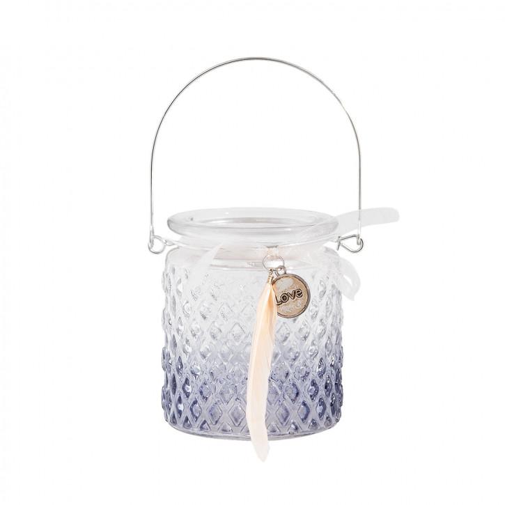 """Teelichthalter Dekoration Kerzenhalter """"Love"""" Ø 8x9 cm"""
