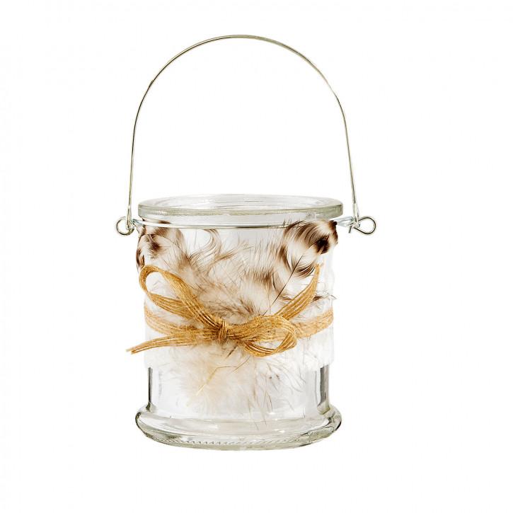Teelichthalter Ø 8x10 cm