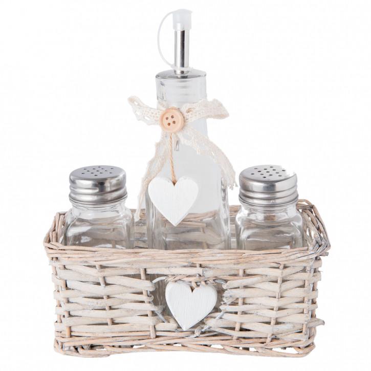 Salz und Pfeffer / bottle 13x7x10 cm