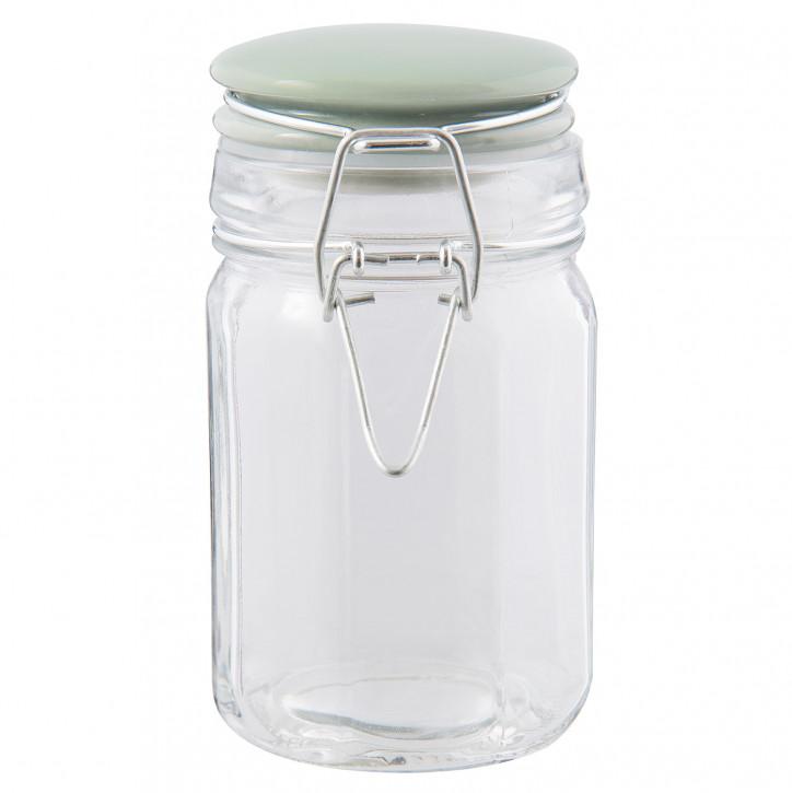 Einweck Glas Vorratsdose Ø 7x12 cm