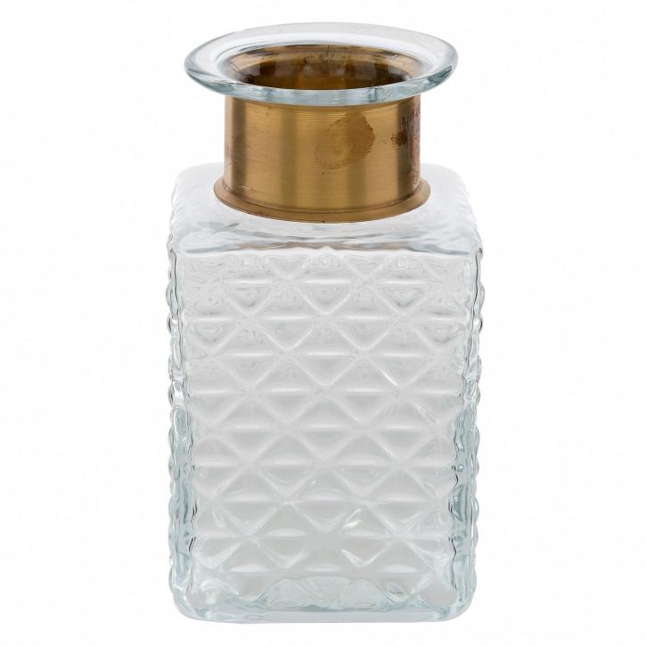 Flasche / Vase 10x10x18 cm