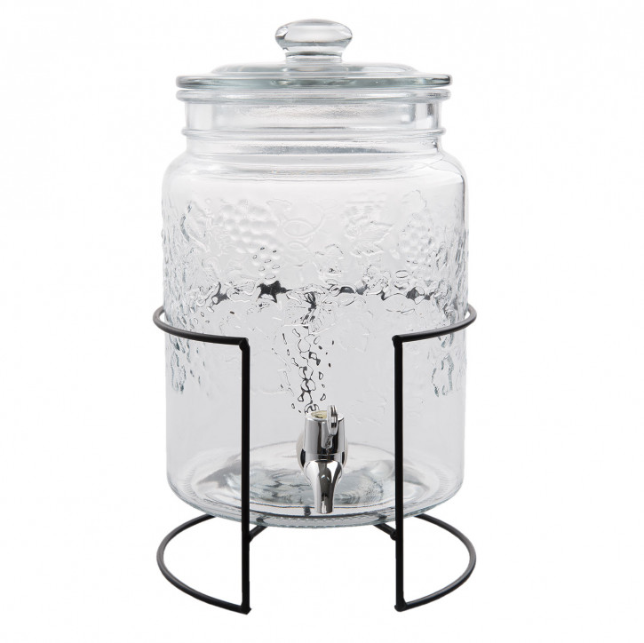 Juice jar with tap Ø 27x42 cm / 5L
