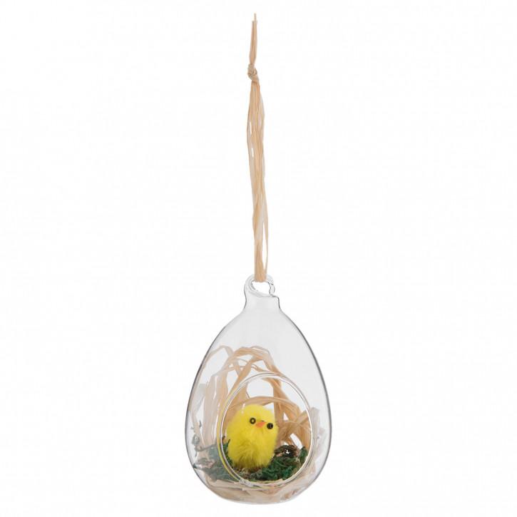 Hängedekoration egg 5x5x8 cm