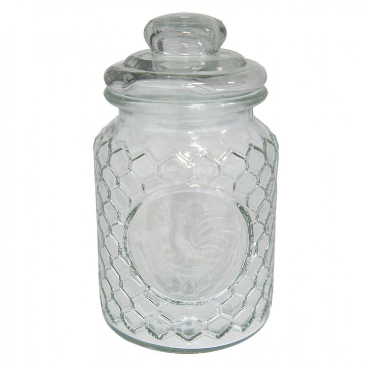 Vorratsglas mit Deckel Ø 10x19 cm