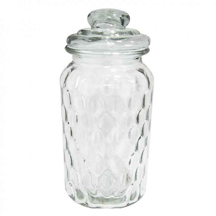 Vorratsglas mit Deckel Ø 10x22 cm