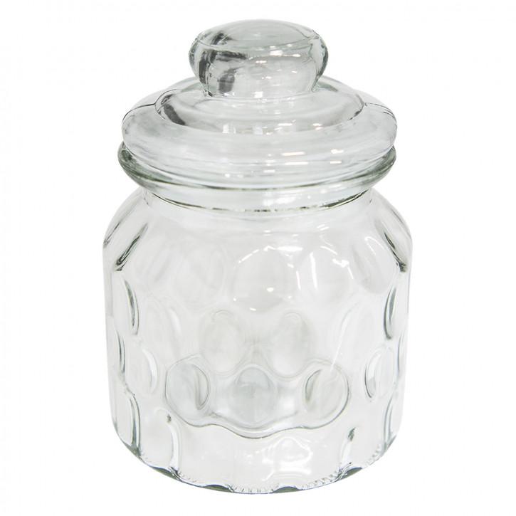 Vorratsglas mit Deckel Ø 10x14 cm