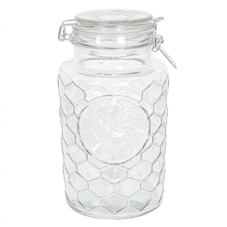 Vorratsglas mit Deckel Ø 13x24 cm / 1,9L