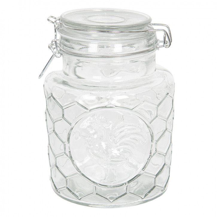 Vorratsglas mit Deckel Ø 13x19 cm / 1,3L
