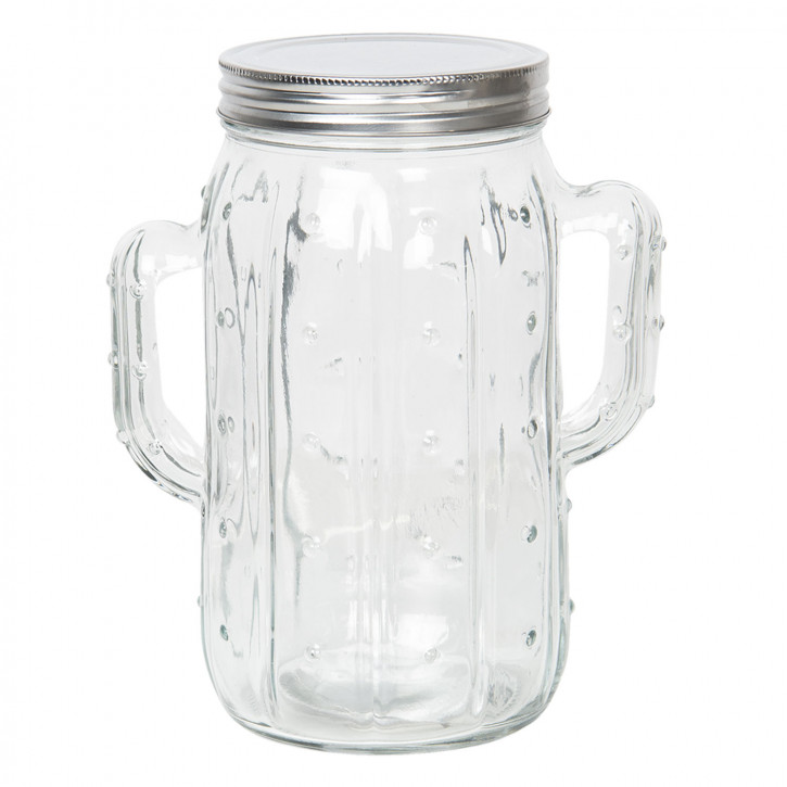 Vorratsglas mit Deckel 16x11x20 cm / 1,35L