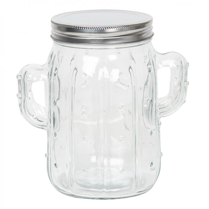 Vorratsglas mit Deckel 16x11x17 cm / 1L