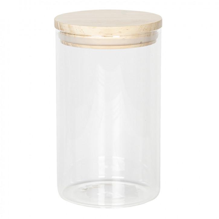 Vorratsglas mit Deckel Ø 10x17 cm / 1L