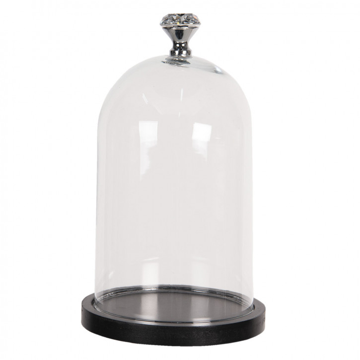 Glasglocke Ø 14x25 cm