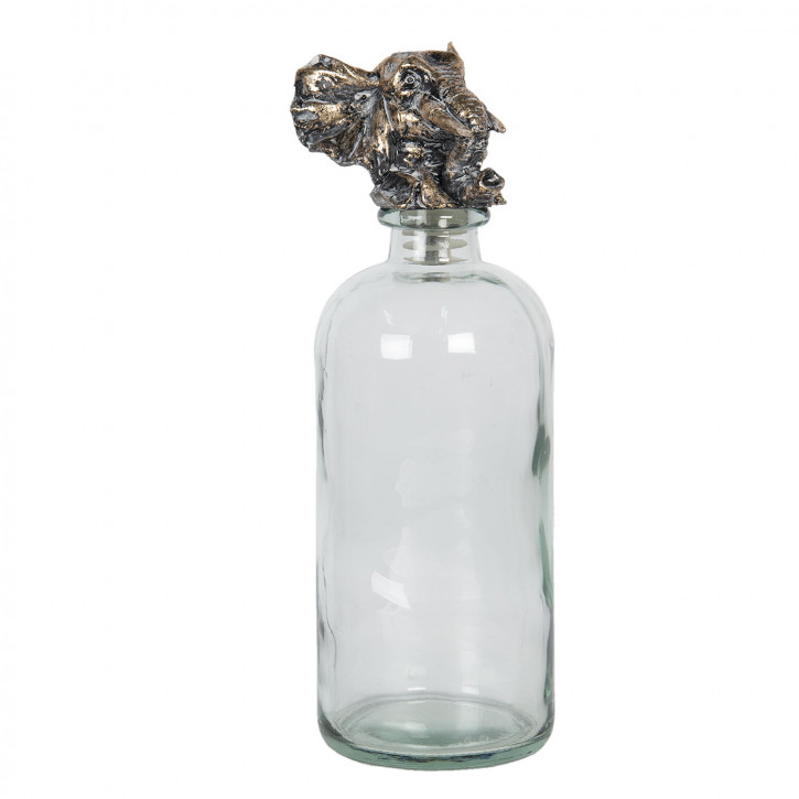 Flasche mit» Ø 10x33 cm