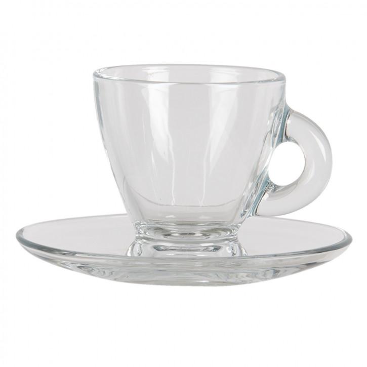 Kaffeetasse mit» 8x6x6 / 11x10x2 cm»