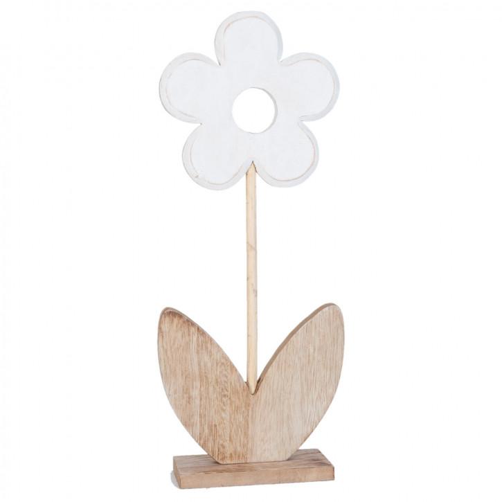 Dekoblume Figur Blume ca. 17 x 7 x 40 cm