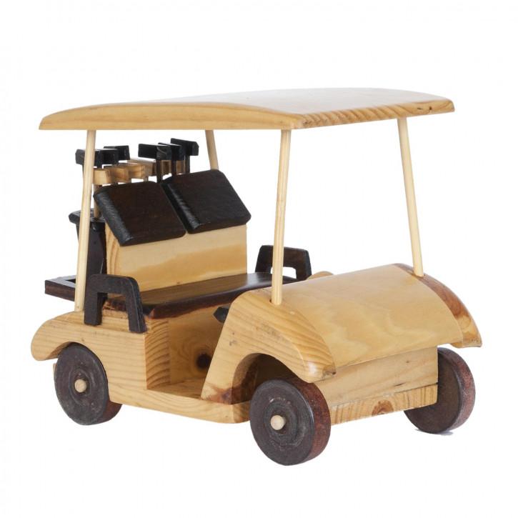 Blechmodel Golf car 19x16 cm