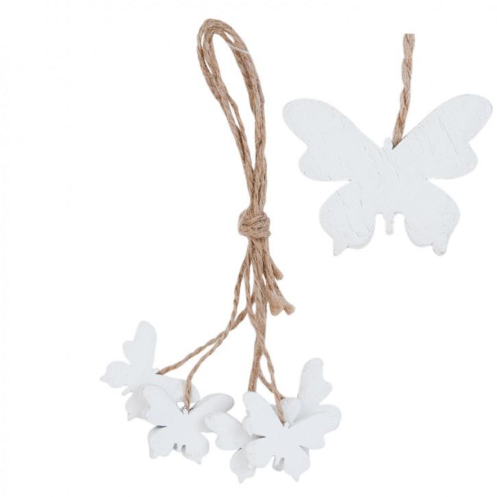 Hängedekoration butterfly 3x14 cm (5)