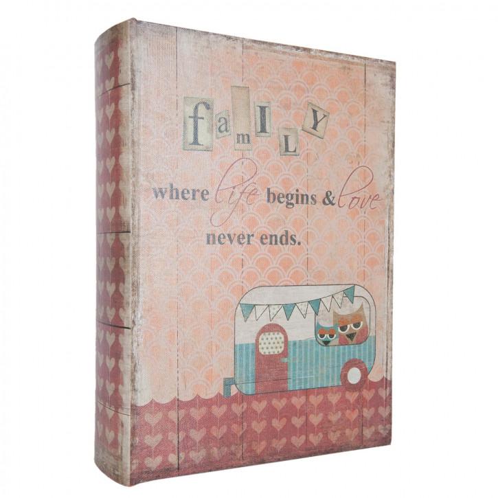 Box in book shape (3) 32x23x7/25x18x5/18x13x4 cm