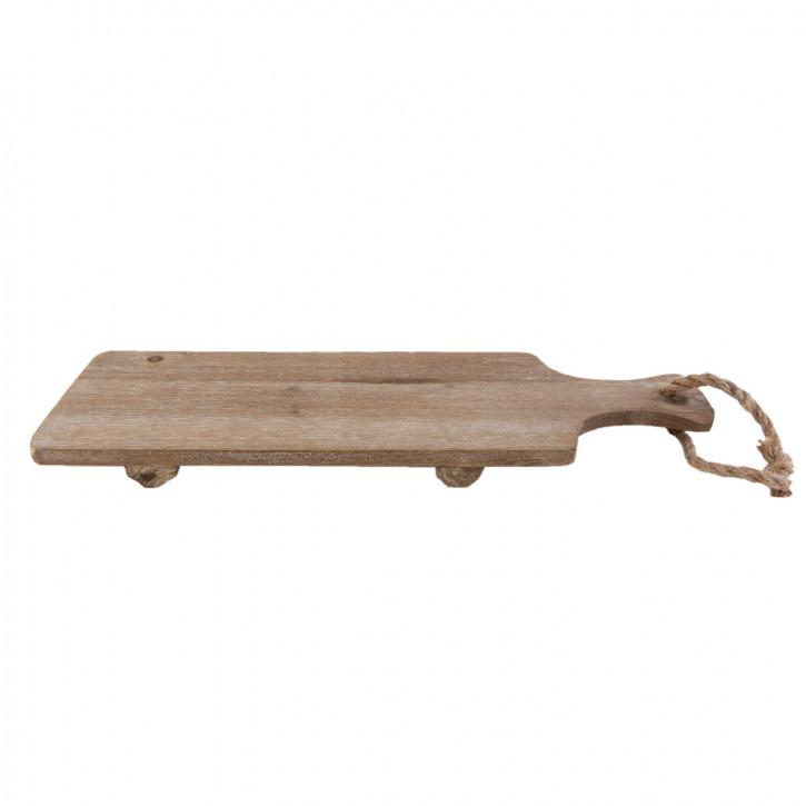 Wooden disch board 50x15x3 cm