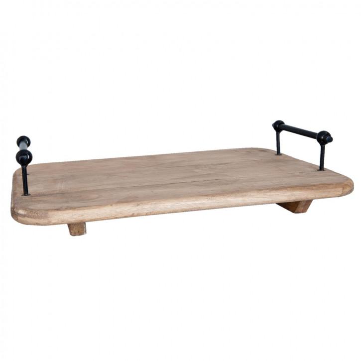 Wooden disch board 42x28x10 cm