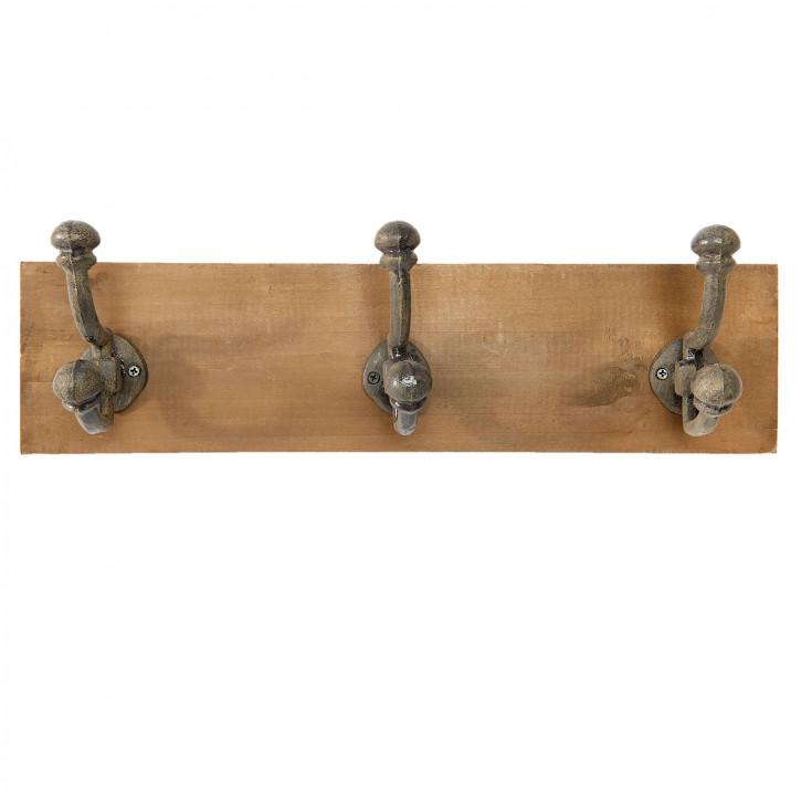 Garderobe Retro aus Holz 42x10x12 cm