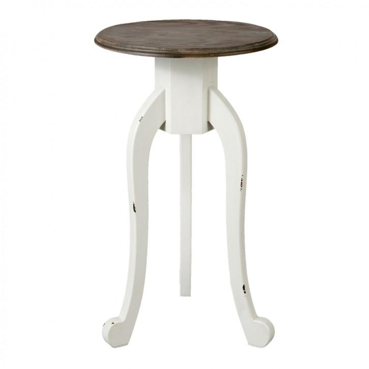 Beistelltisch Nachttisch rund Ø 35x60 cm